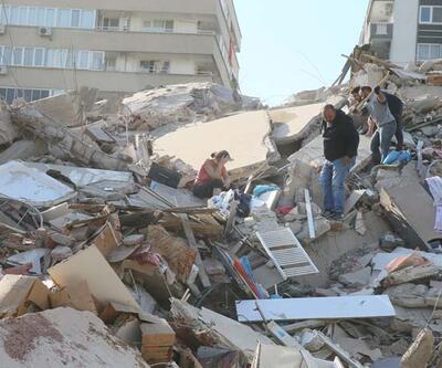 Son dakika... İzmir'deki depremin ardından Manisa'da bir apartman tahliye edildi