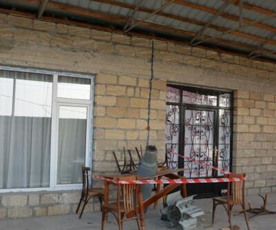 Ermenistan'ın attığı roket masaya saplandı