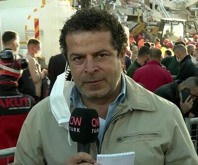 Cüneyt Özemir'le 5N1K İzmir'de deprem bölgesinde son gelişmeleri aktardı