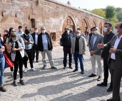 Otel ve seyahat acente yetkililerinden İncesu ve Yeşilhisar'a ziyaret