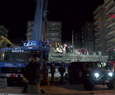 İzmir'de arama çalışmalarının gönüllü kahramanları | Video