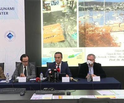 Kandilli: Tsunaminin tırmanma yüksekliği 5-6 metre   Video