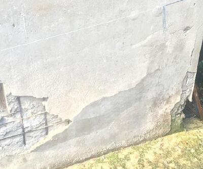 Ümraniye'de riskli ilan edilen mahalle görüntülendi