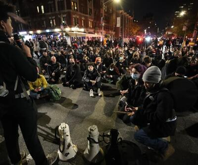 Trump mahkemeye gitti, ortalık karıştı: ABD'de seçim sonrası pek çok eyalette protestolar