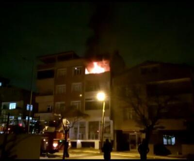 Karı koca kavgası yangın çıkardı | Video