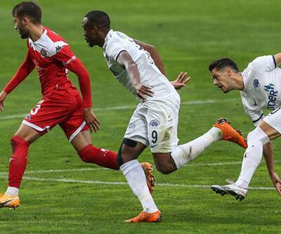 Kasımpaşa - Antalyaspor: 2-2