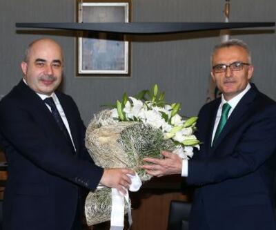 MB Başkanlığında devir teslim töreni yapıldı