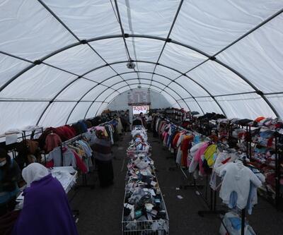 İzmir'de depremzedeler için 'Sosyal market'