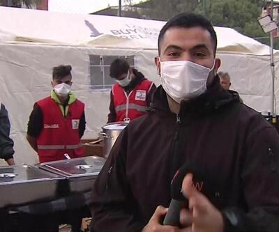 Kızılay, İzmir için sahada  | Video