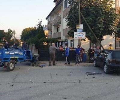 Otomobil ile patpat çarpıştı: 2 yaralı