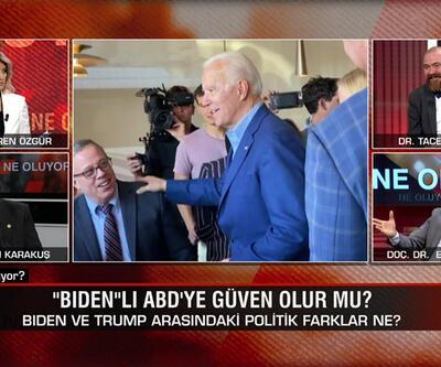 """Biden ve Trump arasındaki politik farklar ne? """"Biden""""lı ABD'ye güven olur mu? Ne Oluyor?'da konuşuldu"""
