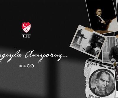 TFF ve kulüplerden 10 Kasım mesajları