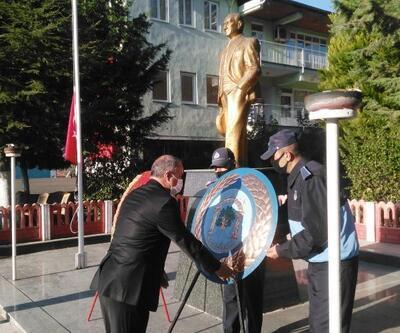 Ağlasun'da Atatürk anıldı