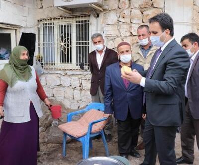 Kaymakam Dundar, bıttım sabunu üreticilerini ziyaret etti