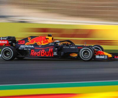 Formula 1 İstanbul'da ilk seansın en hızlısı Verstappen