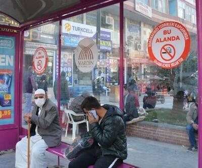 Mardin'de sigara yasağıyla ilgili bilgilendirme