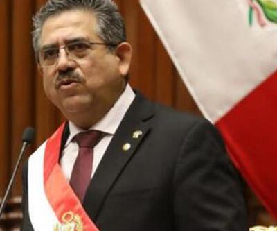 Peru'nun geçici Cumhurbaşkanı Merino istifa etti   Video