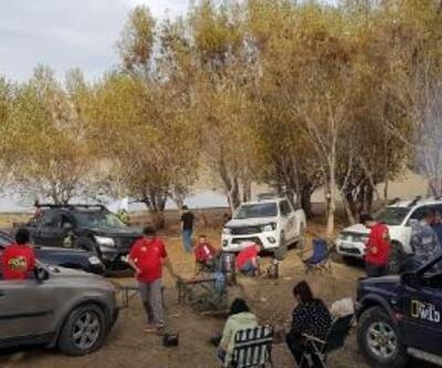 Erzurum'da Offroad sezonu açıldı