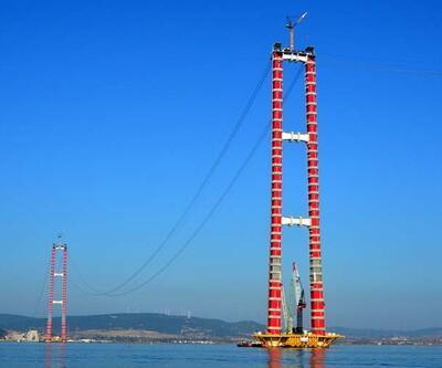 """Çanakkale Köprüsü'nde """"kedi yolu"""" yapımına başlandı"""