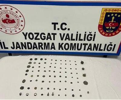 Yozgat'ta 173 adet tarihi sikke ele geçirildi