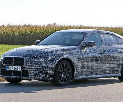 Elektrikli BMW i4 kış testine girdi