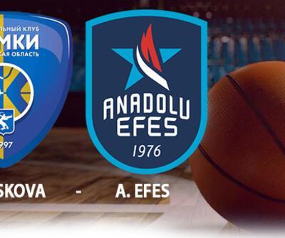 Khimki Moskova Anadolu Efes maçı hangi kanalda, ne zaman, saat kaçta canlı izlenecek?
