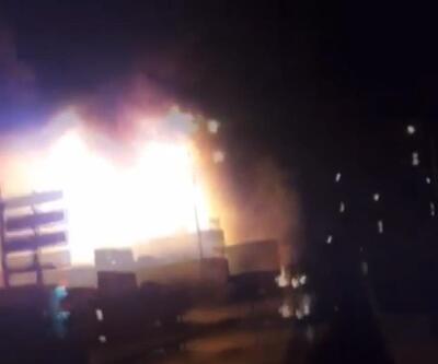 Bahçelievler'de tekstil atölyesi patladı: 2 yaralı