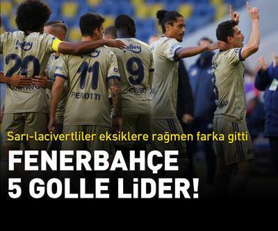 Gençlerbirliği - Fenerbahçe: 1-5