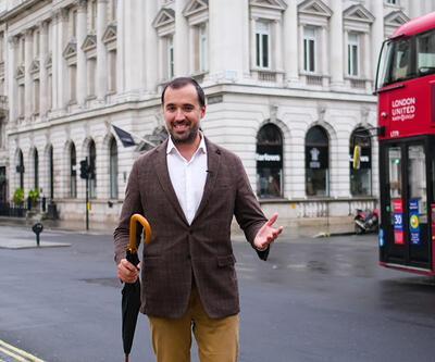 Arda Sayıner, Londra'nın özel adreslerini ziyaret etti