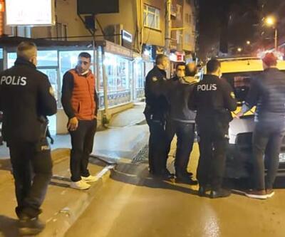 Yasağa rağmen sokağa çıktı, polisleri ve gazetecileri tehdit etti
