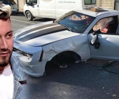 Son dakika: Enes Batur kaza yaptı! Lüks aracı kullanılamaz hale geldi