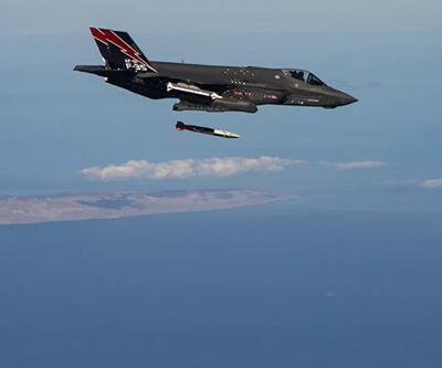 ABD'den F-35 uçağında 'nükleer bomba' testi!