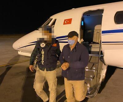 Cezayir'de yakalanan FETÖ'cü Ankara'ya getirildi