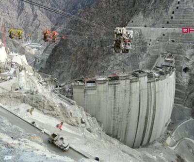 Yusufeli Barajı'nda son 21 metre   Video