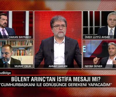 Bülent Arınç'tan istifa mesajı mı? CHP'li Çeviköz'ün sözlerinin anlamı ne? Tarafsız Bölge'de tartışıldı
