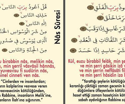 Felak Ve Nas Suresi Türkçe, Arapça Anlamı ve okunuşu: Felak Nas Duası Faziletleri Ve Faydaları neler? (Tefsir Ve Diyanet Meali Dinle)
