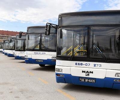 Başkent'te EGO otobüslerine Covid-19 düzenlemesi