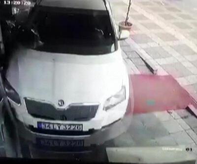 Aracıyla kasap dükkanına girdi | Video