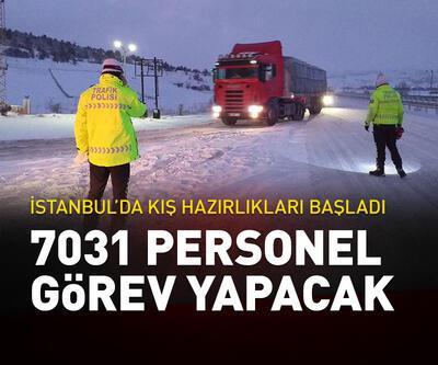 1351 araç, 7031 personel görev yapacak
