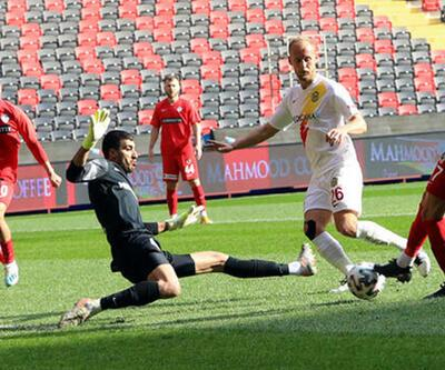 Gaziantep FK - Yeni Malatyaspor: 2-2