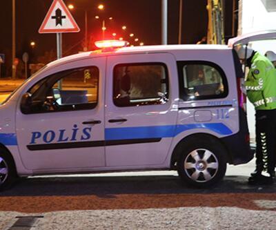 Ehliyetsiz sürücü sokağa çıkma kısıtlaması denetimine takıldı