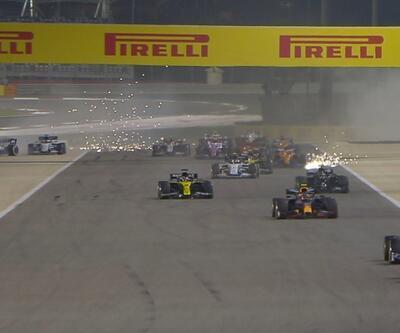 Formula 1'de korkutan kaza