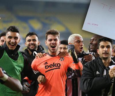 Beşiktaş'tan derbi paylaşımı