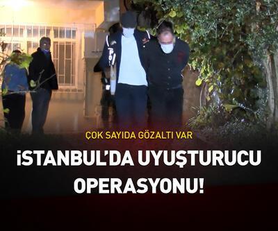 İstanbul'da uyuşturucu operasyonu