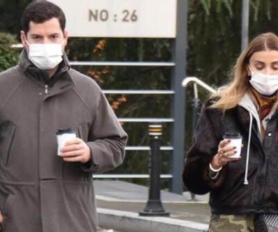 Özge Ulusoy ve sevgilisi Faruk Çolakoğlu, Etiler'de!