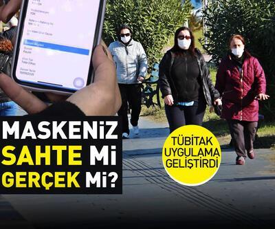 TÜBİTAK uygulaması ile sahte maskeler öğrenilebilecek