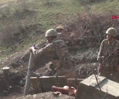 Azerbaycan ordusu stratejik bölge Laçin'e girdi   Video