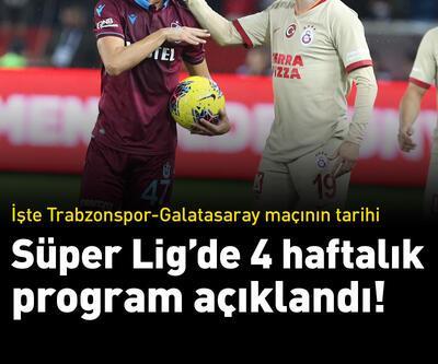 Süper Lig'de 12-15. hafta programları açıklandı!