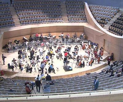 Cumhurbaşkanlığı Senfoni Orkestrası yeni binasında | Video