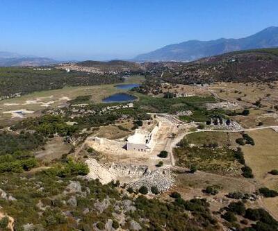 Patara Antik Kenti'ne çeyrek milyon ziyaretçi